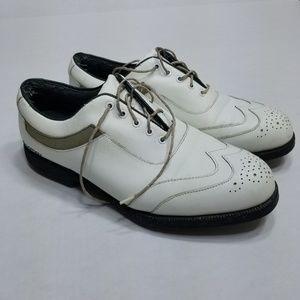 Footjoy Aqualites White golf shoes US 10M 9303
